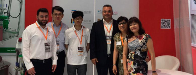 Éxito en Ceramics China 2017