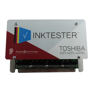 Electronic card P&T set Toshiba