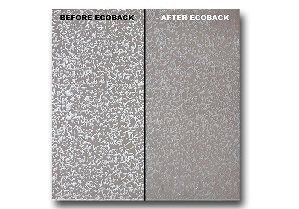 Antes y después de azulejo con ECOBACK